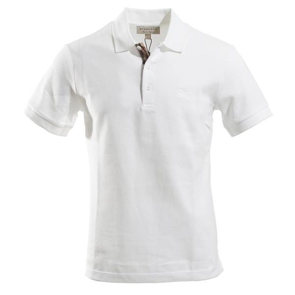 バーバリー BURBERRY ポロシャツ ホワイト メンズ 8000919-white|mb-y|07