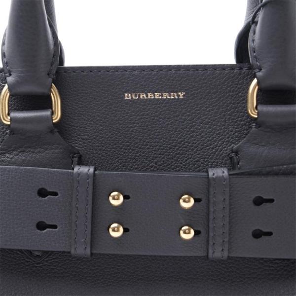 バーバリー BURBERRY トートバッグ 2WAY BELT BAG ベルト バッグ グレー レディース 8006399-charcoal-grey