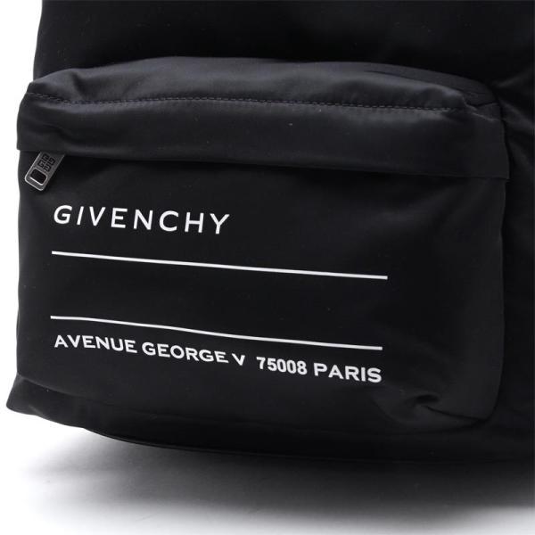 ジバンシー GIVENCHY バックパック BACKPACK STRAP リュックサック ブラック メンズ bk500rk0at-004