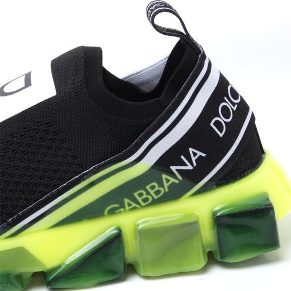 ドルチェ&ガッバーナ DOLCE&GABBANA スニーカー BASSA ブラック メンズ cs1595-ak235-8q203|mb-y|06