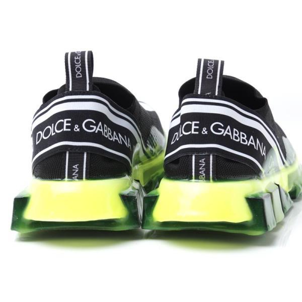 ドルチェ&ガッバーナ DOLCE&GABBANA スニーカー BASSA ブラック メンズ cs1595-ak235-8q203|mb-y|07