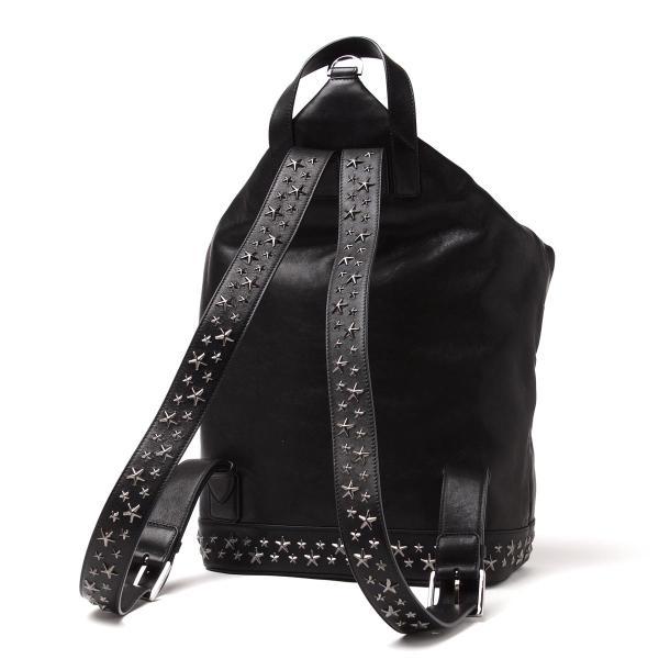 ジミーチュウ JIMMY CHOO バックパック リュックサック ブラック メンズ fitzroy-bls-black-gunmetal FITZROY