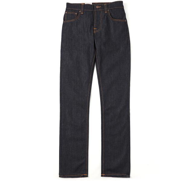 ヌーディージーンズ nudie jeans co ボタンフライ ジーンズ GRIM TIM SLIM REGULAR FIT ブルー メンズ grim-tim-112223|mb-y