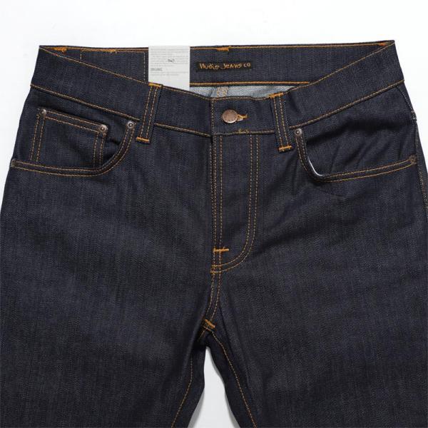 ヌーディージーンズ nudie jeans co ボタンフライ ジーンズ GRIM TIM SLIM REGULAR FIT ブルー メンズ grim-tim-112223|mb-y|04