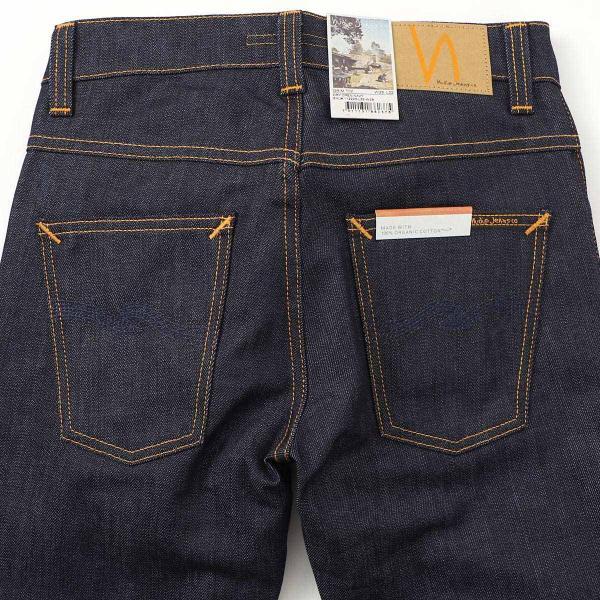ヌーディージーンズ nudie jeans co ボタンフライ ジーンズ GRIM TIM SLIM REGULAR FIT ブルー メンズ grim-tim-112223|mb-y|05