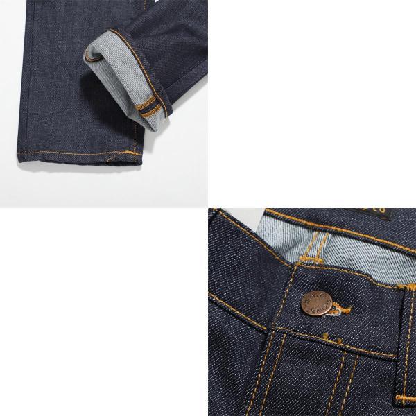 ヌーディージーンズ nudie jeans co ボタンフライ ジーンズ GRIM TIM SLIM REGULAR FIT ブルー メンズ grim-tim-112223|mb-y|08