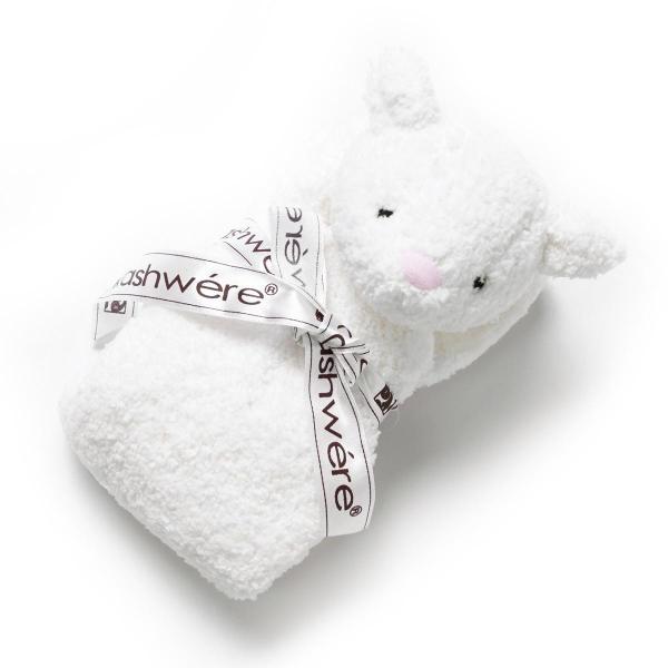 カシウエア Kashwere ベビーブランケット ヒツジ ホワイト kk-60-18-621-lamb