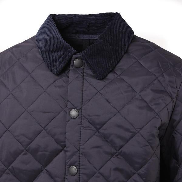 バブアー Barbour キルティングジャケット BARBOUR HERITAGE LIDDESDALE QUILT キルティングブルゾン メンズ mqu0240ny92-navy|mb-y|07