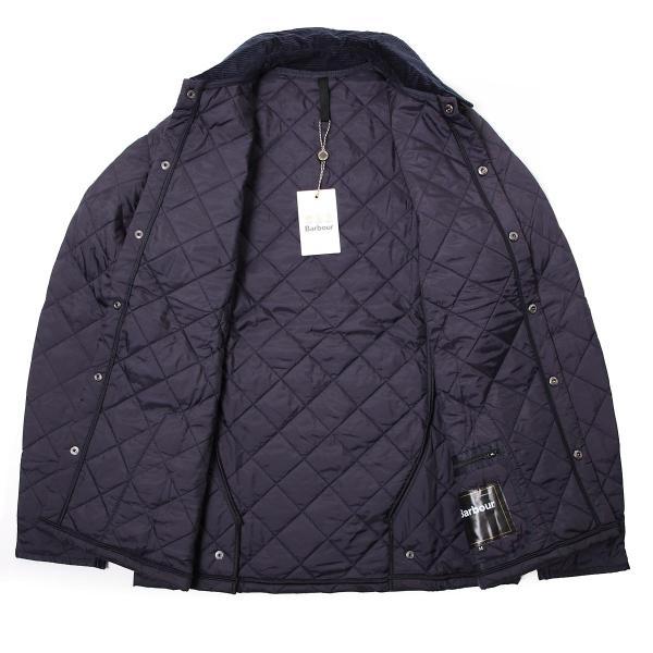 バブアー Barbour キルティングジャケット BARBOUR HERITAGE LIDDESDALE QUILT キルティングブルゾン メンズ mqu0240ny92-navy|mb-y|09
