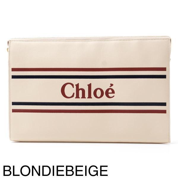 クロエ Chloe ポーチ VICK クラッチバッグ レディース chc19sp068a88-49z-eclipseblue|mb-y|09