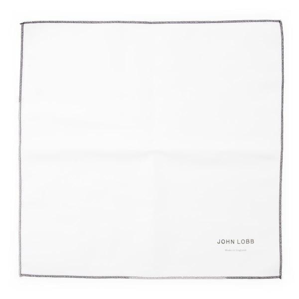 ジョンロブ JOHN LOBB ポリッシング クロス SELVYT CLOTH セルヴィット クロス ホワイト メンズ xsvt01l-2w-cream|mb-y|02