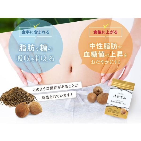 オサエル 30日分 食事に含まれる脂肪や糖の吸収をおさえる サプリ 【MBH公式】 mbh-online-shop 06