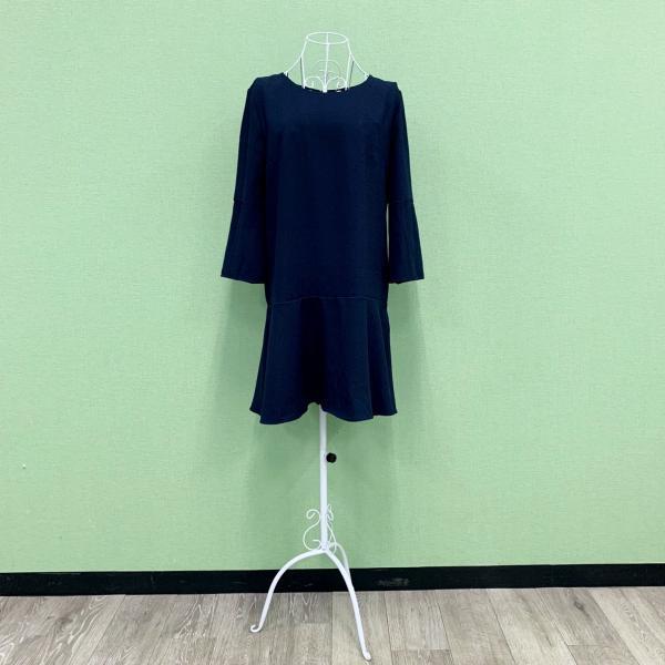 EGERIE エジェリー no.15 フランス製 パリ ワンピース ネイビー 2018-2019年 T2(M/Lサイズ)新作 mcb-apparel 04