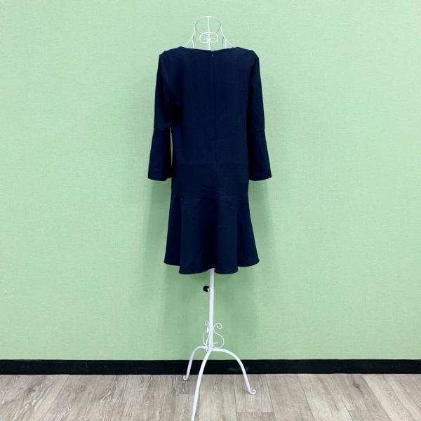 EGERIE エジェリー no.15 フランス製 パリ ワンピース ネイビー 2018-2019年 T2(M/Lサイズ)新作 mcb-apparel 06