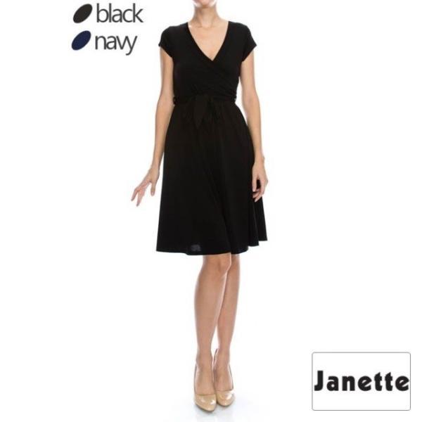 JANETTE ジャネット JANE-1&2 アメリカ LA ジャージーワンピース スプリング/サマー 2018新作|mcb-apparel