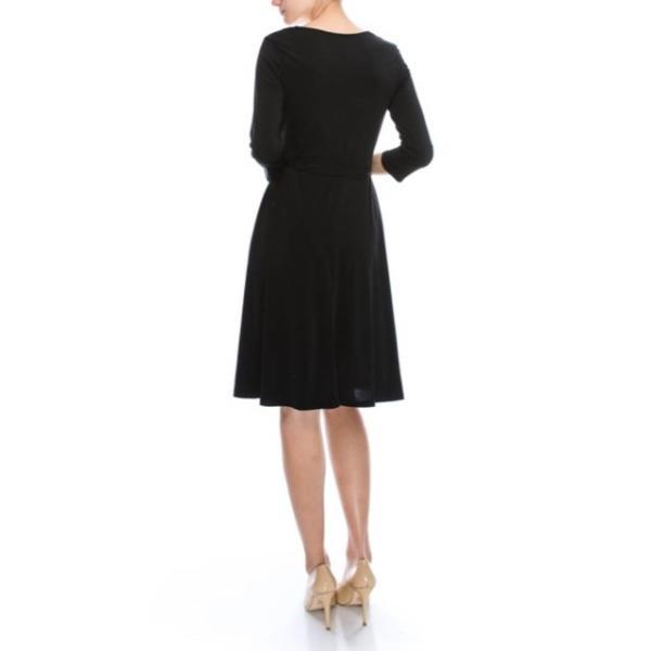 JANETTE ジャネット JANE-13-14 LA ジャージーワンピース 七分袖 2018新作 大きいサイズ有|mcb-apparel|04