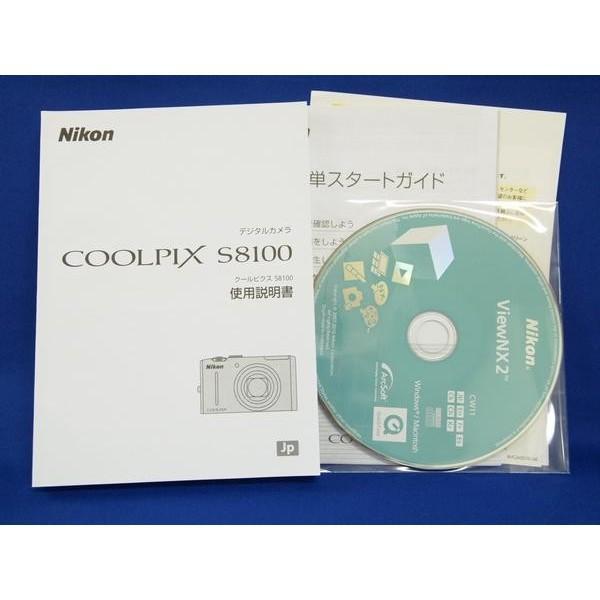 新品   メール便   Nikon COOLPIX S8100 使用説明書