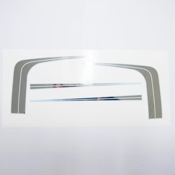 羽根テール社外シートカウルミラーステッカー白フチXJ400Z400FX