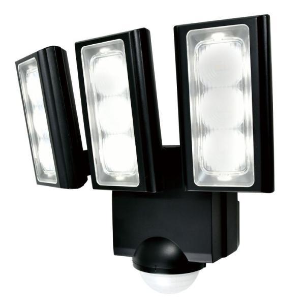 ELPA  屋外用LEDセンサーライト 乾電池式 ESL-313DC