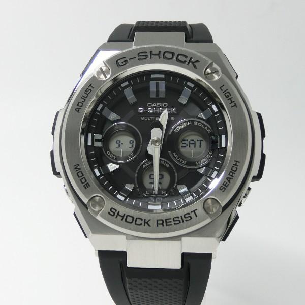 【7年保証】カシオ G-SHOCK  メンズ ソーラー電波腕時計 男性用 Gスチール  ミッドサイズ 品番:GST-W310-1AJF mcoy 02