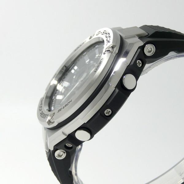 【7年保証】カシオ G-SHOCK  メンズ ソーラー電波腕時計 男性用 Gスチール  ミッドサイズ 品番:GST-W310-1AJF mcoy 03