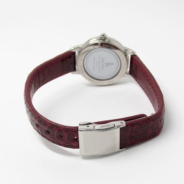 【7年保証】セイコールキア 女性用 ソーラー電波腕時計 品番:SSQW038 mcoy 05