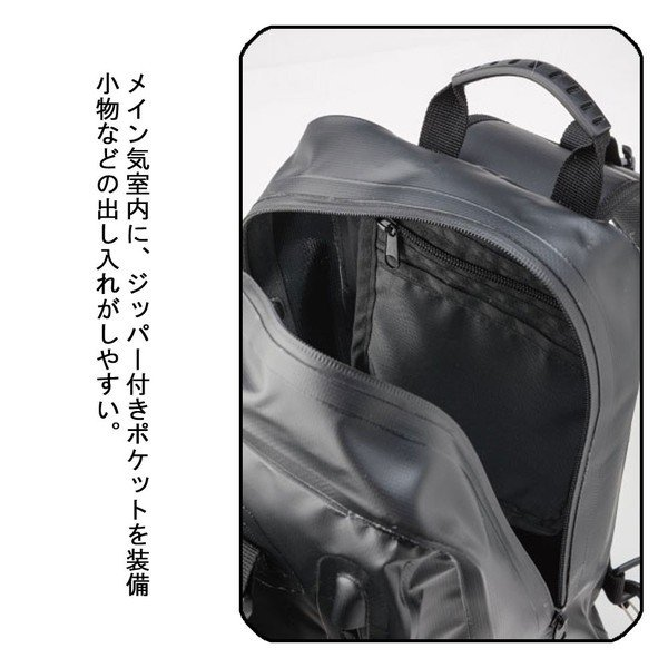 BA-606 ナンカイ(NANKAI) 防水 ウォータープルーフ ワンショルダーバッグ  容量約15リットル  オートバイ/バイク/単車/自転車/ツーリング|mcselect|03