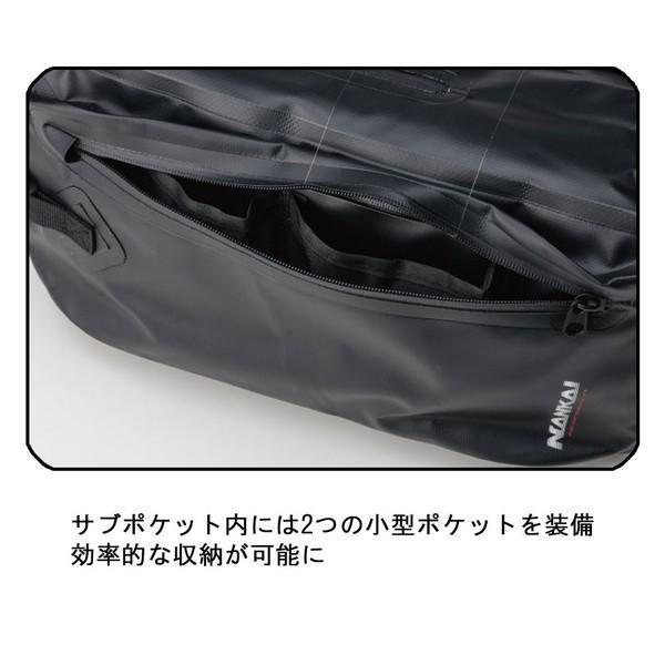 BA-606 ナンカイ(NANKAI) 防水 ウォータープルーフ ワンショルダーバッグ  容量約15リットル  オートバイ/バイク/単車/自転車/ツーリング|mcselect|06