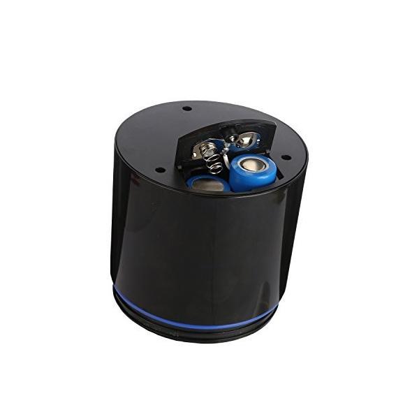 Liebeye ミリ ミキサー リットル 小型 ポータブル USB充電式 電気 多機能 野菜 フルーツ ジューサー マシン 600ml ブラック mdk-store 06