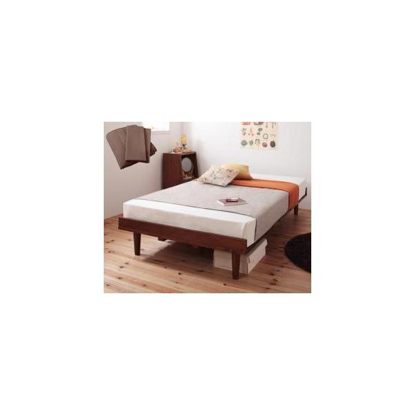 ショート丈北欧デザインベッド ベッド ベット マットレス付き|mdmoko