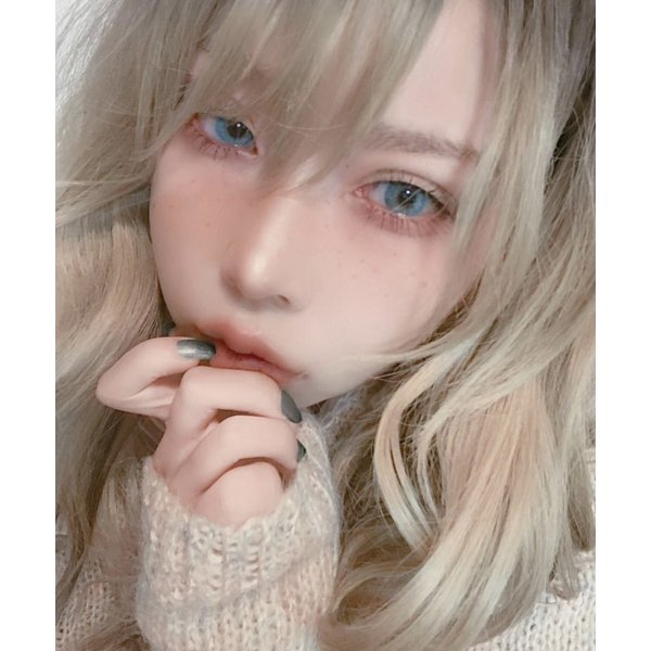 YOUPLUS 盛れるカラコン Natural AI (ふちなし) 紺碧-KONPEKI 1年仕様 1year|me-plus