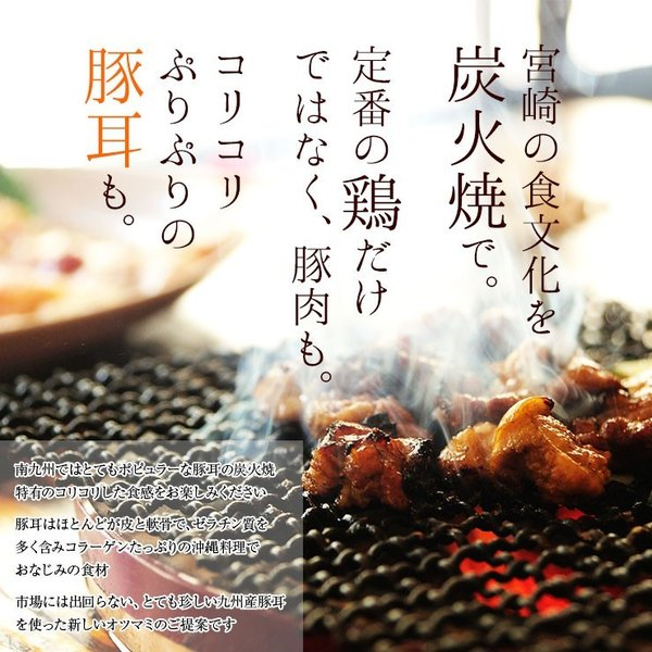おつまみ 宮崎名物 焼き鳥 鶏の炭火焼100g×3パック セット 送料無料|meat-21|05