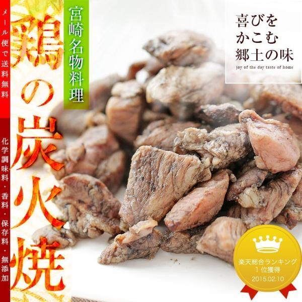 おつまみ 宮崎名物 焼き鳥 鶏の炭火焼100g×3パック セット お取り寄せ グルメ 食品 グルメ  肉 鶏肉 惣菜 チキン