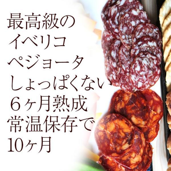 おつまみ イベリコ豚生ハム仕立て イベリコベジョータサラミ40g×2|meat-21|03