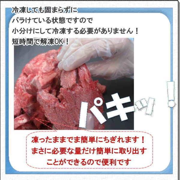 5Pセット 馬肉 5kg(1Kg×5Pセット) ※冷凍バラ凍結です ペット用馬肉  生馬肉 ※同梱包は合計10kgまでです。|meat-gen|19