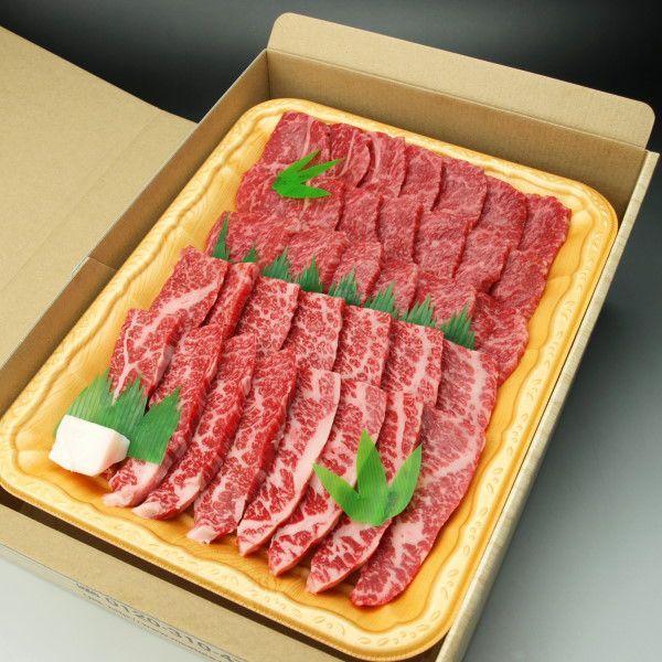 和牛 焼肉 BBQ バーベキュー用肉 ギフトセット オリーブ牛(讃岐牛) 焼き肉 カルビ・モモ各400g入 送料無料(沖縄・北海道は別途送料要)