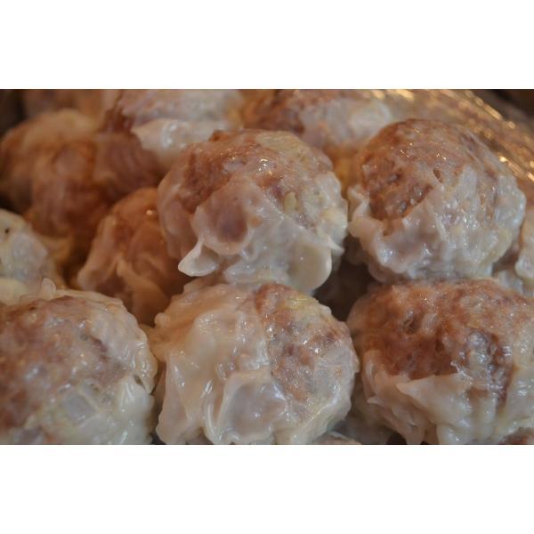 黒豚 シュウマイ 12個セット(4個入り×3パック) 国産 黒豚 焼売|meatshopitou298|03
