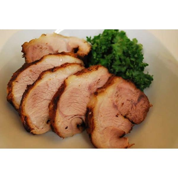 黒 チャーシュー(焼豚)500g スライス(自家製タレ付き)|meatshopitou298|05