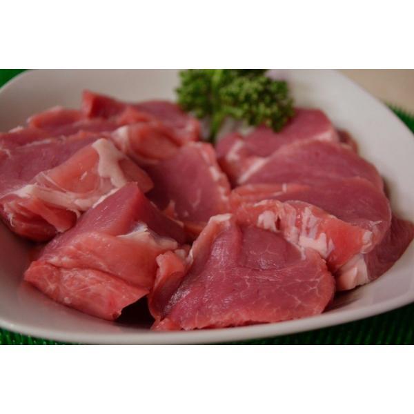 豚肉 豚ヒレ ソテー スライス 500g|meatshopitou298