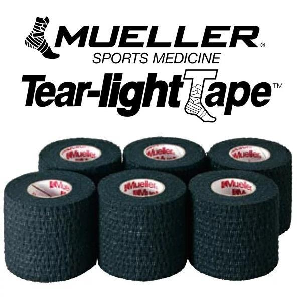 【6本セット】 Mueller ティアライトテープ 50mm テーピングテープ (ミューラーテアライト)|mebius-store