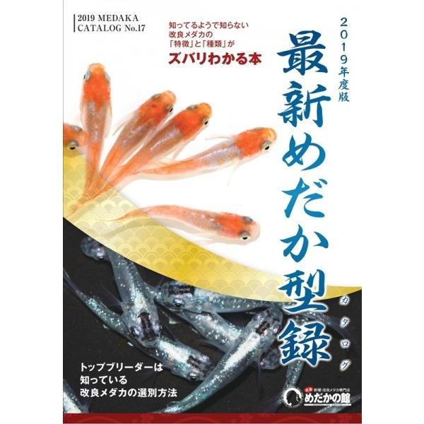 めだかの館 カタログ 2019年度版 最新めだか型録