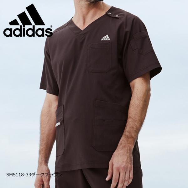 白衣 手術衣 アディダス メンズスクラブ SMS118-15(17・18・21・33) カゼン|medi-wear|06