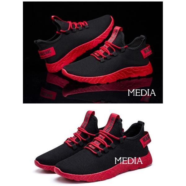メンズ靴 シューズ メンズ 運動靴 ランニングシューズ スニーカー 靴 カジュアルシューズ おしゃれ 紳士靴 ズック靴 新作 media-saronstore 06