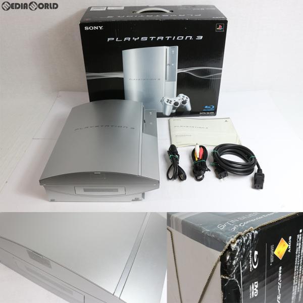 PlayStation3本体 40GB サテンシルバーの画像