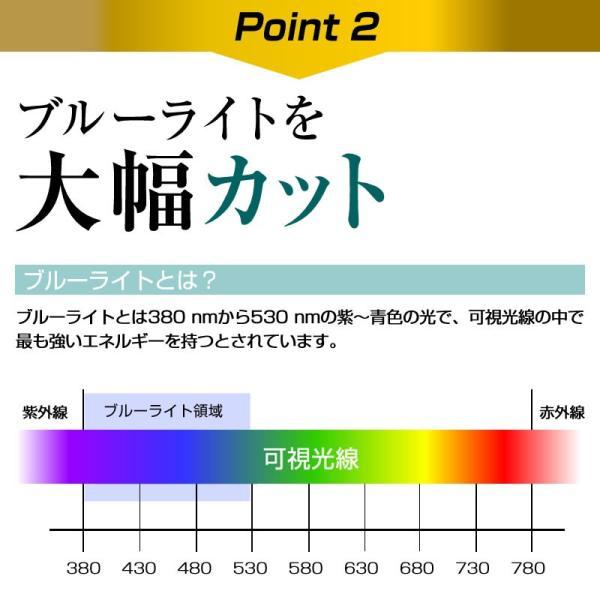 日立 UR18DSML 強化ガラス同等 高硬度9H ブルーライトカット 反射防止 液晶TV 保護フィルム