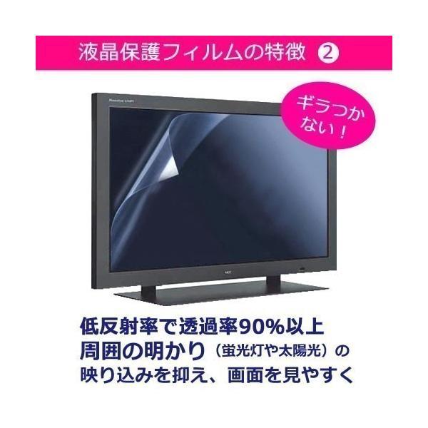東芝 LED REGZA 19RE1 ブルーライトカット 反射防止 指紋防止 気泡レス 液晶保護フィルム