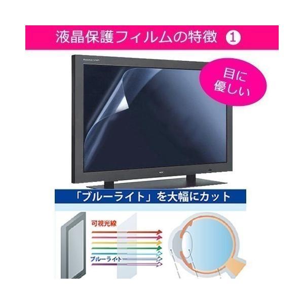 シャープ AQUOS LC-19K5-B ブルーライトカット 反射防止 指紋防止 気泡レス 液晶保護フィルム