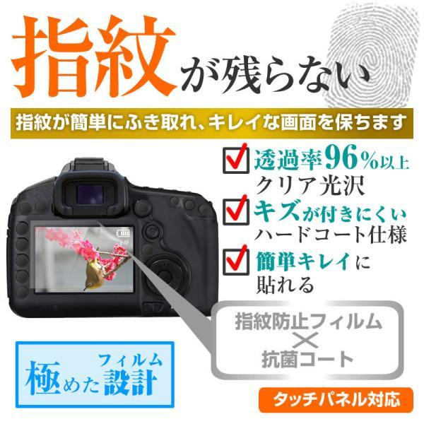 デジタルビデオカメラ 3.0W型(68mm×39mm) 指紋防止 クリア光沢 液晶保護フィルム