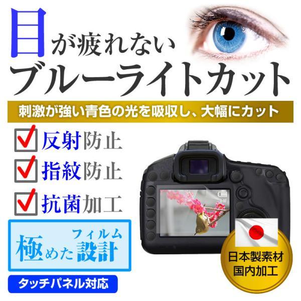デジタルビデオカメラ 2.7W型(60mm×34mm) ブルーライトカット 反射防止 指紋防止 気泡レス 抗菌 液晶保護フィルム|mediacover|02