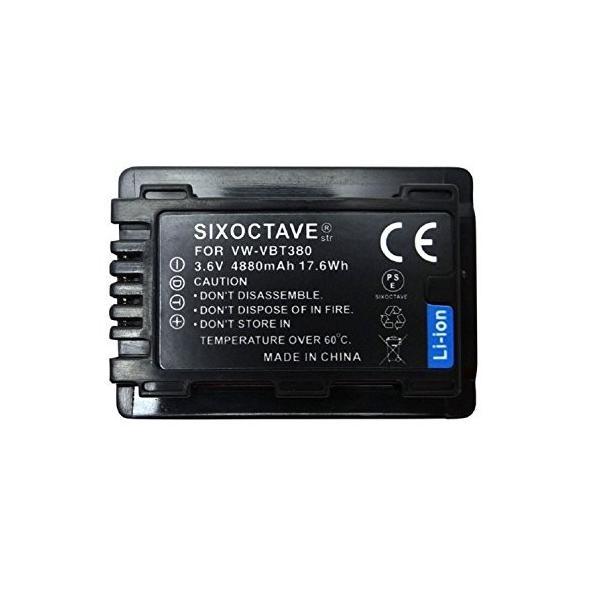VW-VBT380-K VW-VBT380 互換バッテリー Panasonic パナソニック HC-V360MS HC-V480MS HC-VX980|mediaearth|04